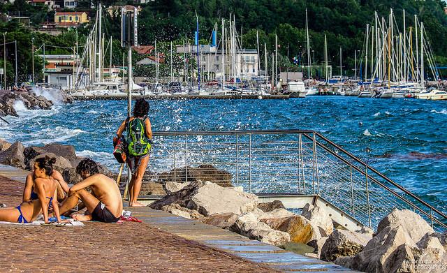 Trieszt: bárhol fürödhetünk a tengerben